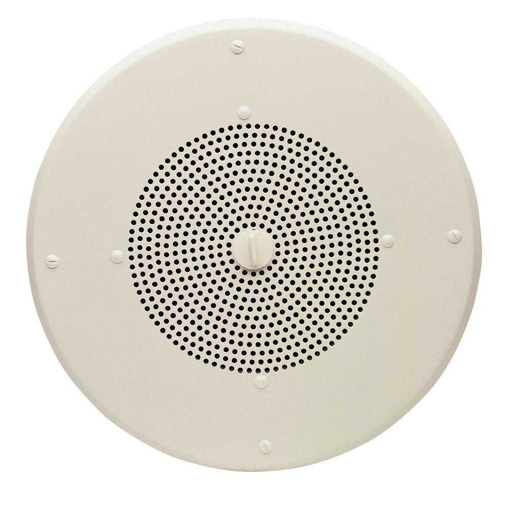 Valcom 25/70-Volt 8 in. Clarity Ceiling Speaker