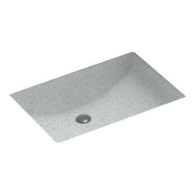 Contour Undermount Bathroom Sink in Tahiti Gray