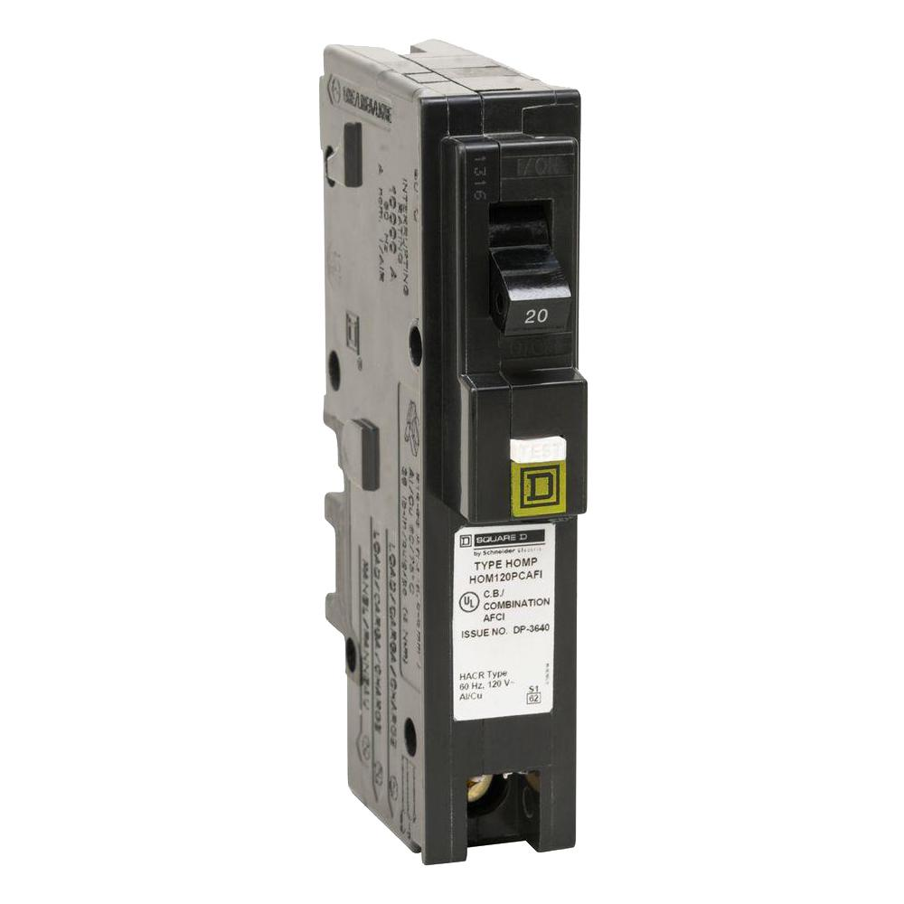 square-d-1-pole-breakers-hom120pcafic6-64_1000  Pole Outdoor Circuit Breaker Wiring on emerson 100 amp, 60 amp federal pacific,