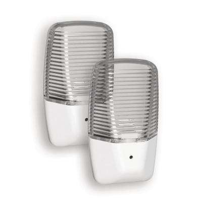 Clear Aria Curve LED Night Light (2-Pack)