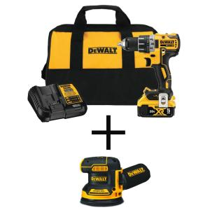 Deals on DEWALT 20V MAX XR Cordless Brushless Drill w/Orbital Sander