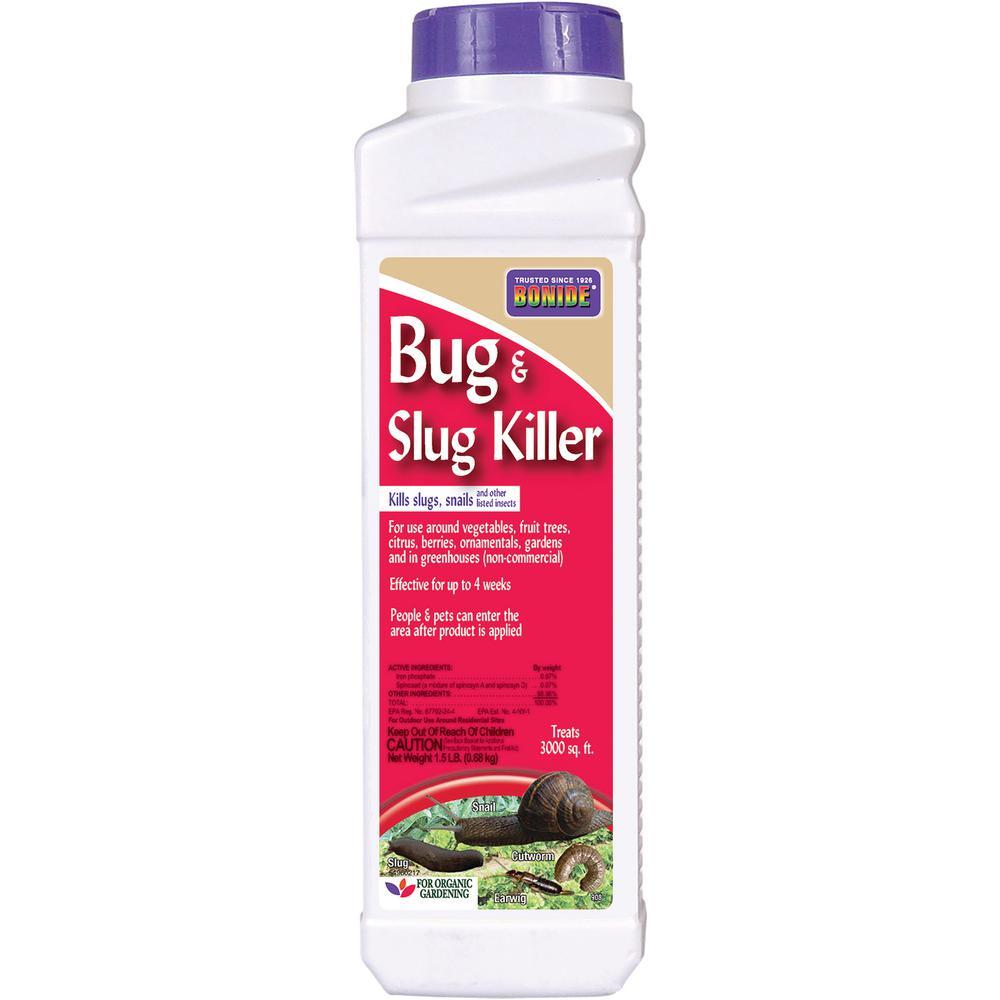 1.5 lbs. Bug and Slug Killer