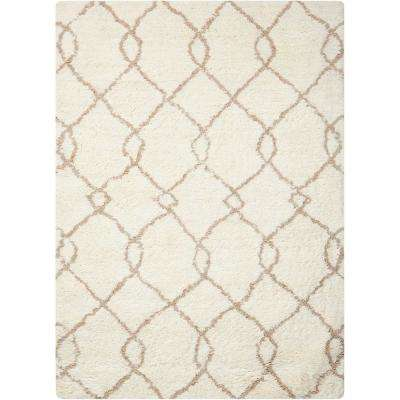 Galway Ivory/Tan 8 ft. x 10 ft. Area Rug