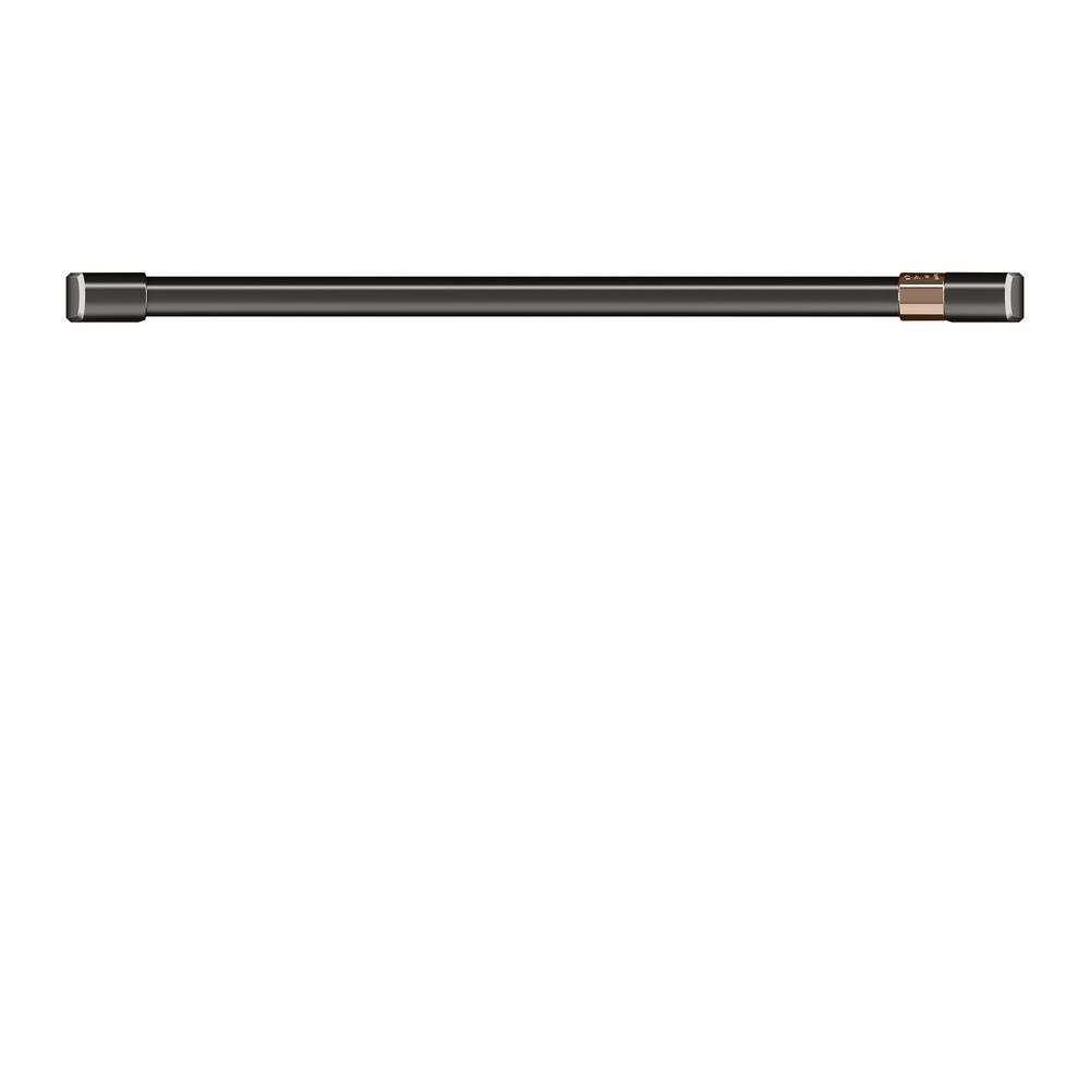 Cafe 30 in. Wall Oven Handle in Brushed Black