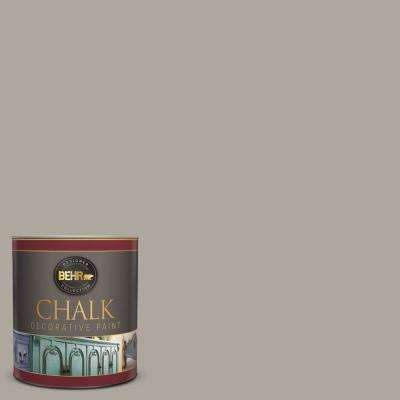 1-qt. #BCP42 Fossil Gray Interior Chalk Finish Paint