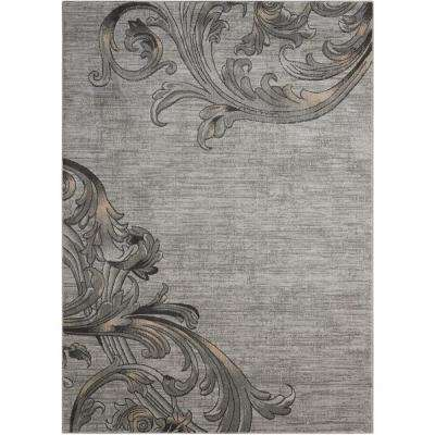 Maxell Graphite 9 ft. x 13 ft. Area Rug