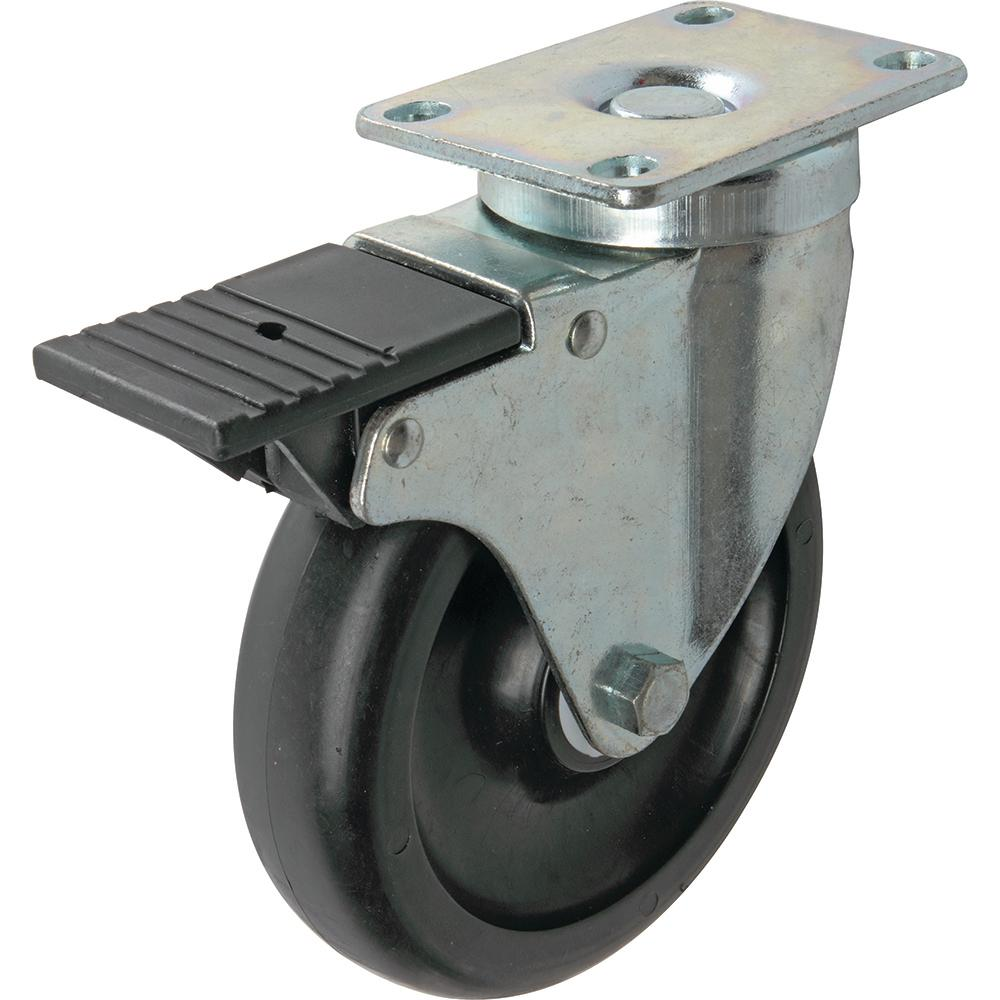 5 in. Tool Box Swivel Caster with 400 lb. Load Rating