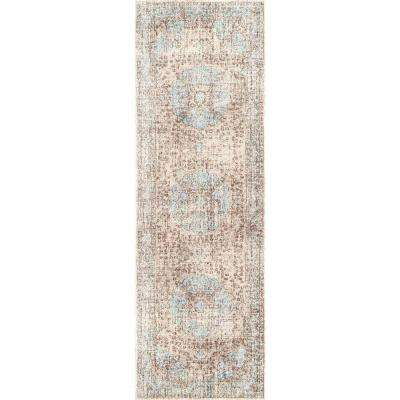 Bobette Persian Beige 3 ft. x 8 ft. Runner