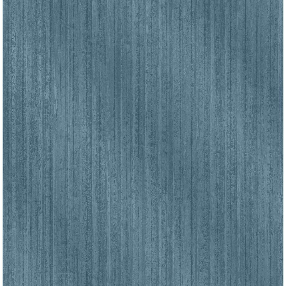 Bijou Blue Faux Metal Wallpaper Sample