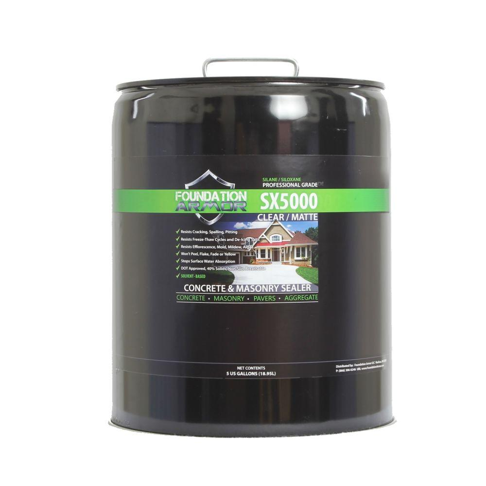 Foundation Armor 5 gal. Penetrating Solvent Based Silane ...