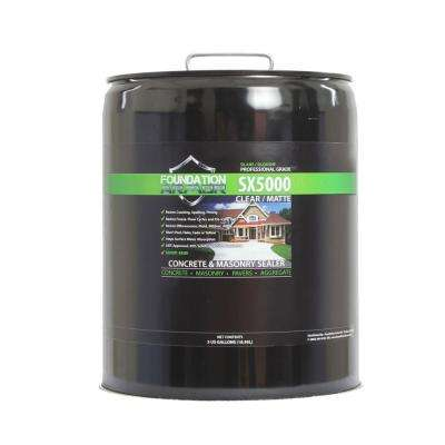 5 gal. Penetrating Solvent Based Silane Siloxane Concrete Sealer and Masonry Water Repellent