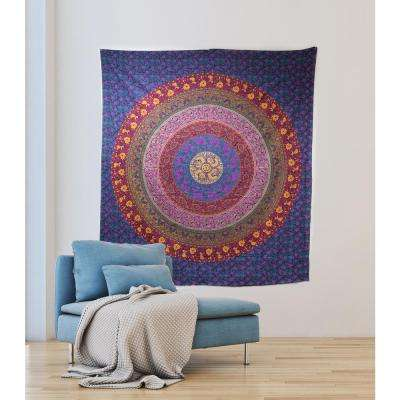 84.64 in x 92.52 in Meher Wall Tapestry
