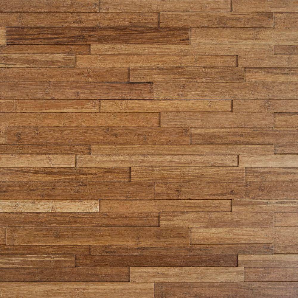 Nuvelle Deco Strips Harvest 3/8 in. x 7-3/4 in. Wide x 47-1/4 in. Length Engineered Hardwood Wall Strips (10.334 sq. ft. / case)