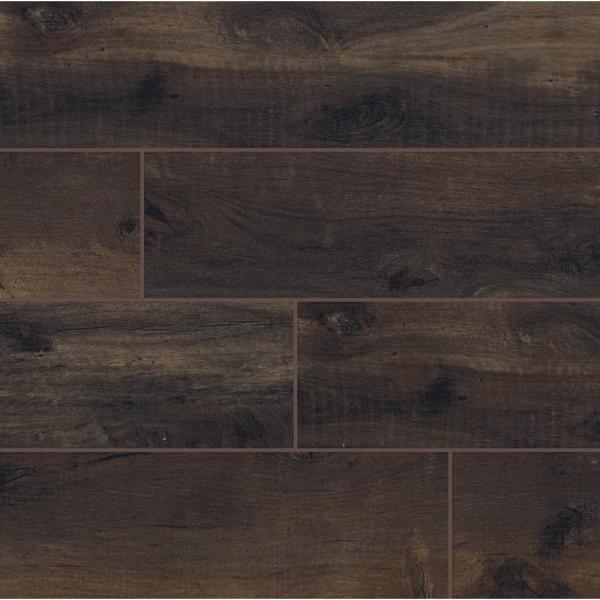Country River Bark 6 in. x 36 in. Matte Porcelain Floor and Wall Tile (13.5 sq. ft. / case)