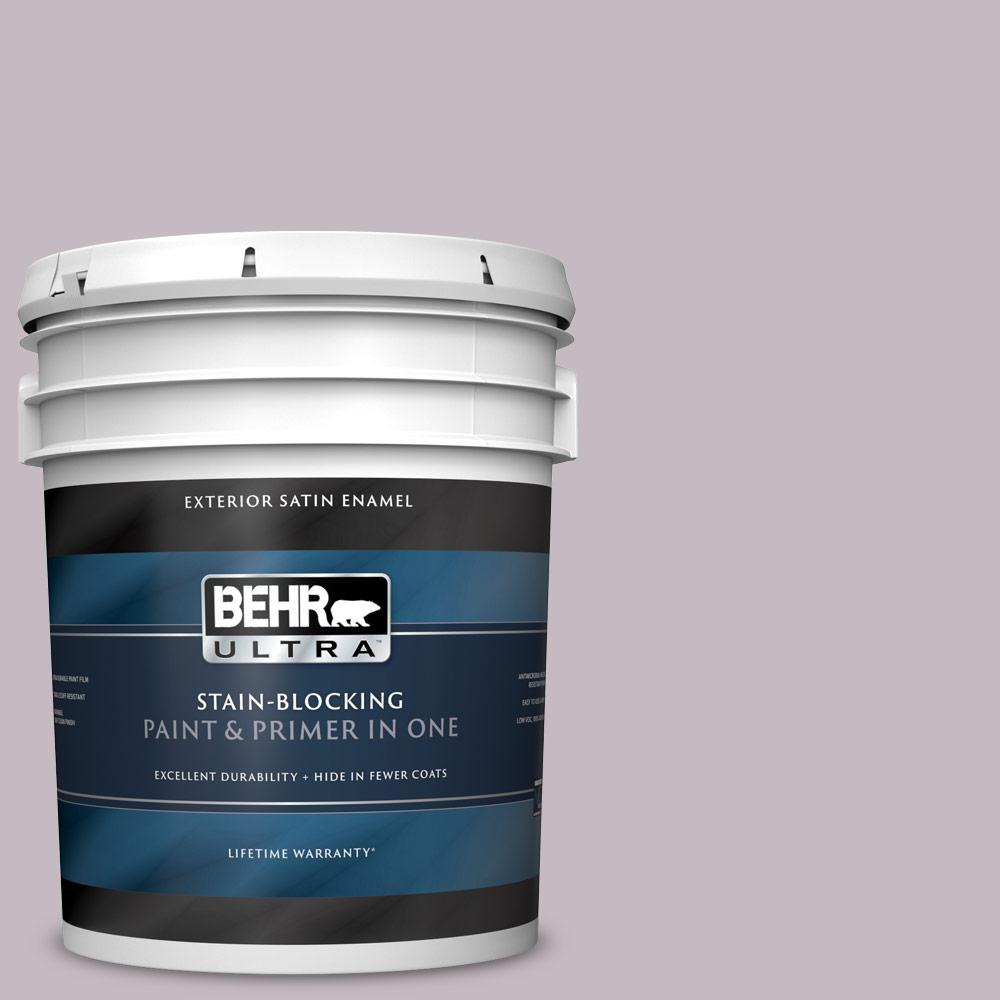 Behr ultra 5 gal n110 2 mulberry stain satin enamel - Exterior paint and primer in one reviews ...