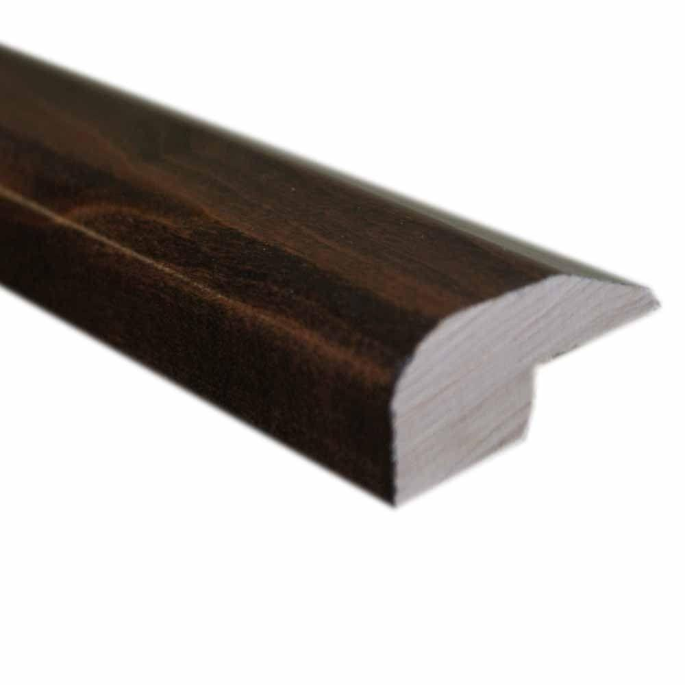 null Maple Cacao 0.875 in. Thick x 2 in. Wide x 78 in. Length Hardwood Carpet Reducer/Baby Threshold Molding