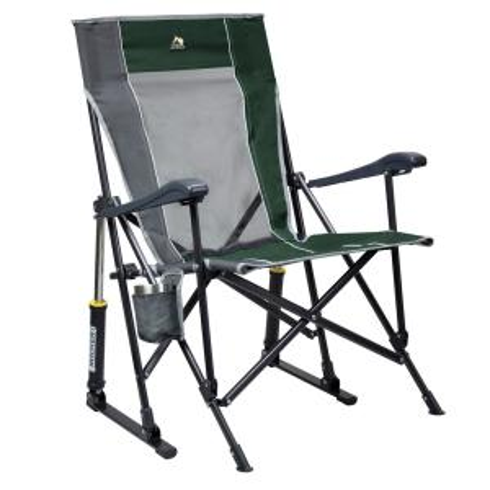 RoadTrip Rocker Metal Outdoor Rocking Chair