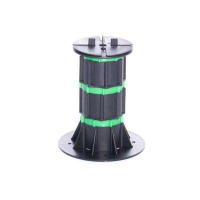 DTG-S6 7.67 in. to 12.80 in. Pavers and/or Lumber Plastic Adjustable Pedestal Support with Spacer Tabs (8-Pack)