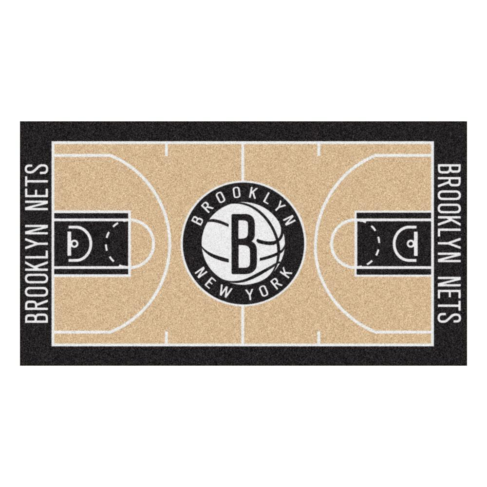 NBA New Jersey Nets 2 ft. 6 in. x 4 ft.