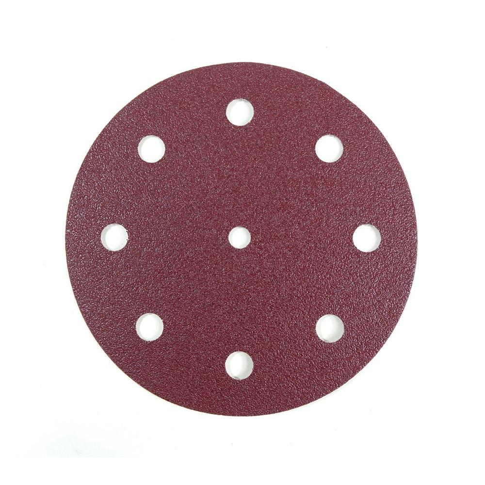 5 STK Metal And Lacquer 125mm-Grain 40-no 125-K40 compartments Discs for Wood