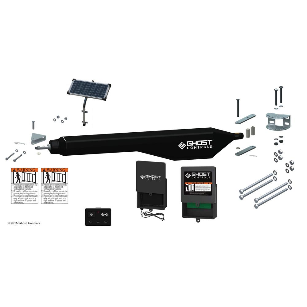 Architectural Series Solar Single Automatic Gate Opener Kit