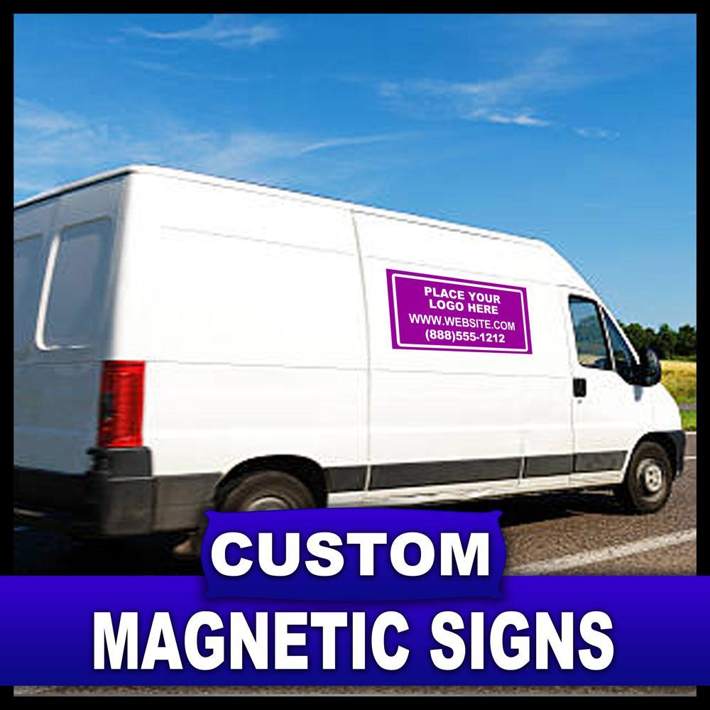 24 in. x 36 in. Custom Magnetic Sign