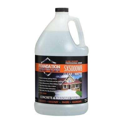 1 gal. Penetrating Water Based Silane Siloxane Concrete Sealer, Brick Sealer and Masonry Water Repellent