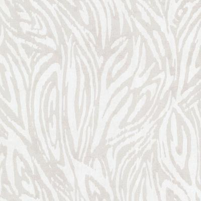 Tempest Silver Abstract Zebra Wallpaper