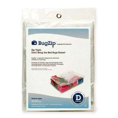 Bed Bug Resistant Drawer Lining and Clothing Encasement