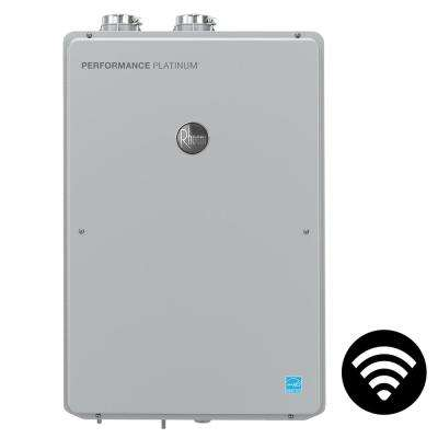 Performance Platinum 9.5 GPM Liquid Propane High Efficiency Indoor Smart Tankless Water Heater