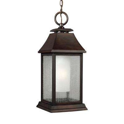 Shepherd 1-Light Heritage Copper Outdoor Pendant
