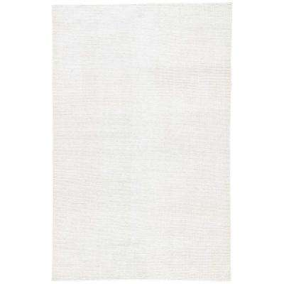Glacier Gray 5 ft. x 8 ft. Solid Indoor/Outdoor Area Rug