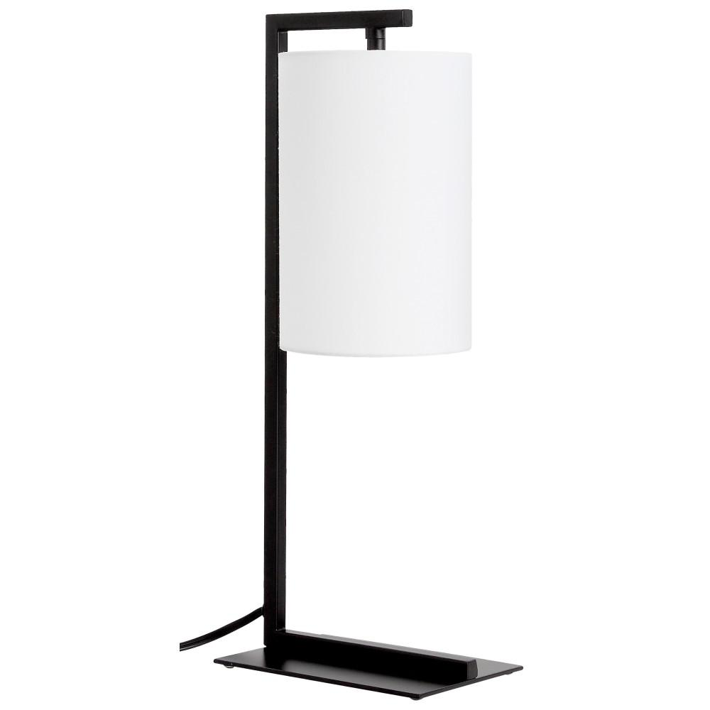 Hanging Table Lamp: Ledpax Technology Kenton 17.75 In. Black And White Table
