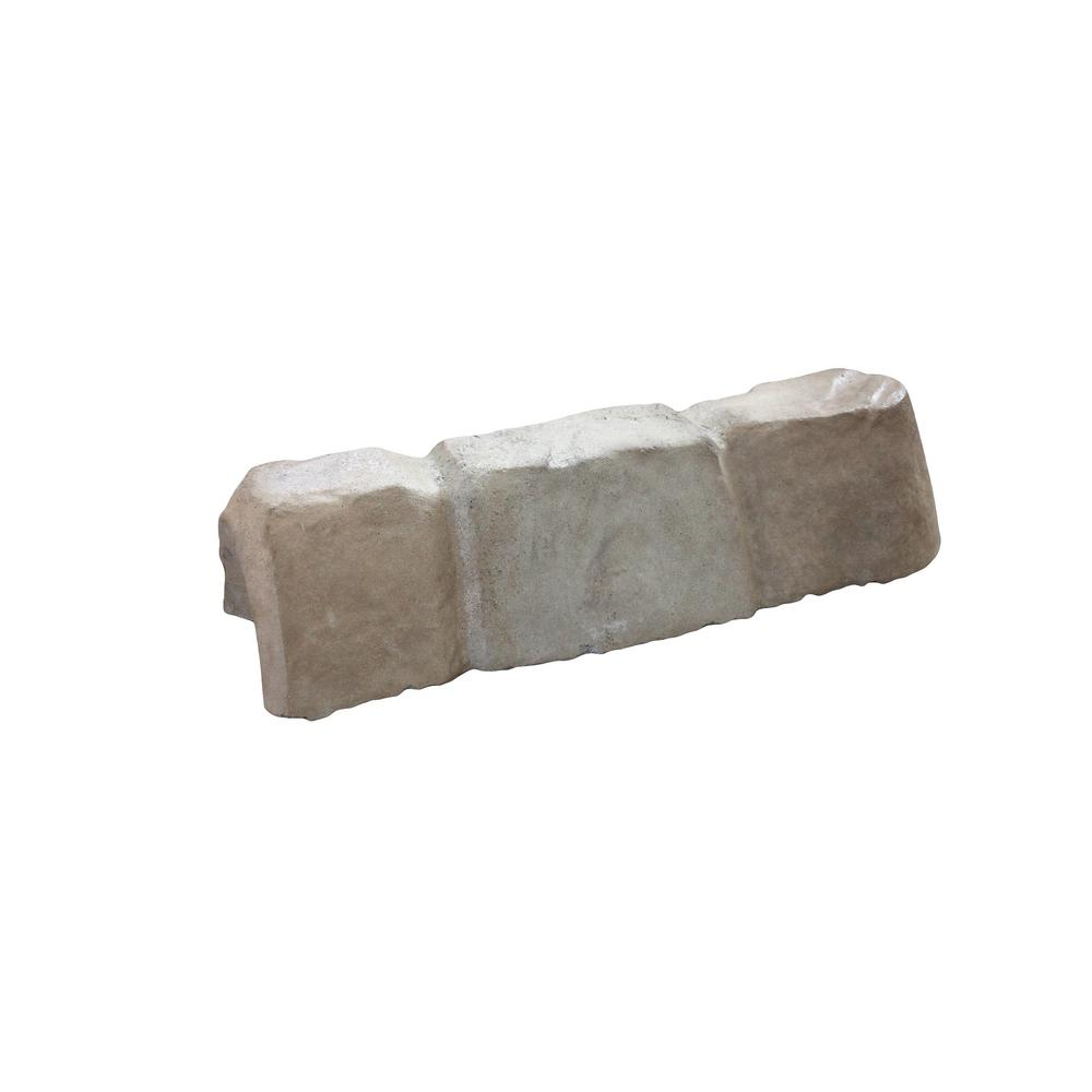 Stone Edger: Landecor New! Edgestone 4 In. X 12 In. X 3 In. Tan/Gray