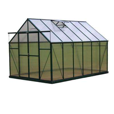 Ascent 8 ft. W x 12 ft. D x 8 ft. H Heavy-Duty Aluminum Greenhouse Kit