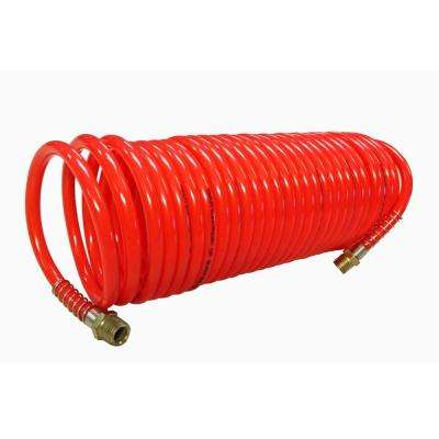 1/4 in. x 25 ft. Recoil Nylon Air Hose