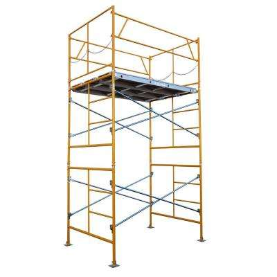 10 ft. x 7 ft. x 5 ft. Stationary Scaffold Tower 2475 lb. Load Capacity