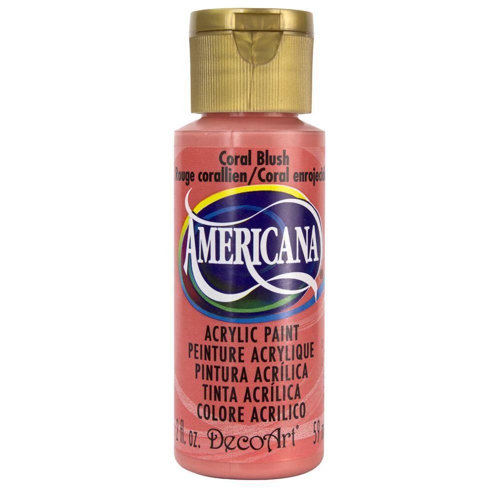 Americana 2 oz. Coral Blush Acrylic Paint