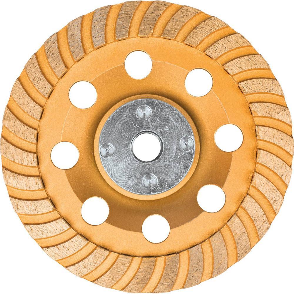 Makita-A-98871 5 In. Low-Vibration Diamond Cup Wheel, Turbo