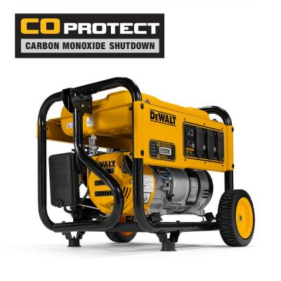 DeWALT 4,000-Watt Gasoline Powered Manual Start Portable Generator with Premium Engine, Covered Outlets and CO Protect