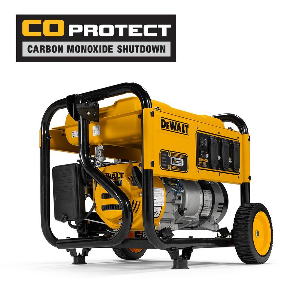 4,000-Watt Gasoline Powered Portable Generator