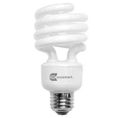 100W Equivalent Bright White  Spiral CFL Light Bulb (4-Pack)