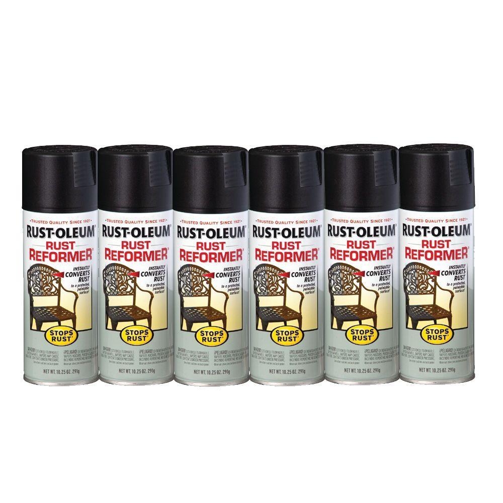 Rust-Oleum Stops Rust 10 oz. Rust Reformer Spray Paint (6-Pack)-DISCONTINUED