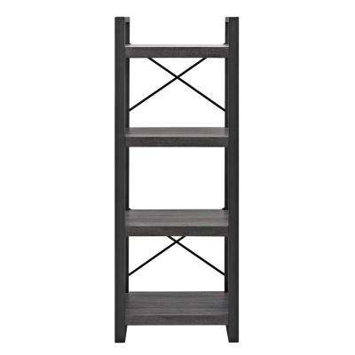 Charcoal Open Bookcase
