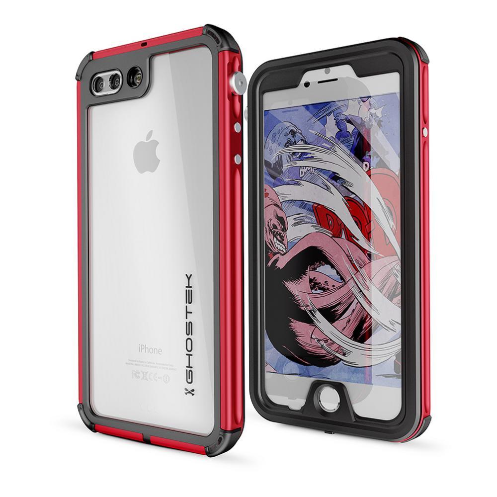 iPhone 7 Plus Atomic 3 Waterproof Case - Silver