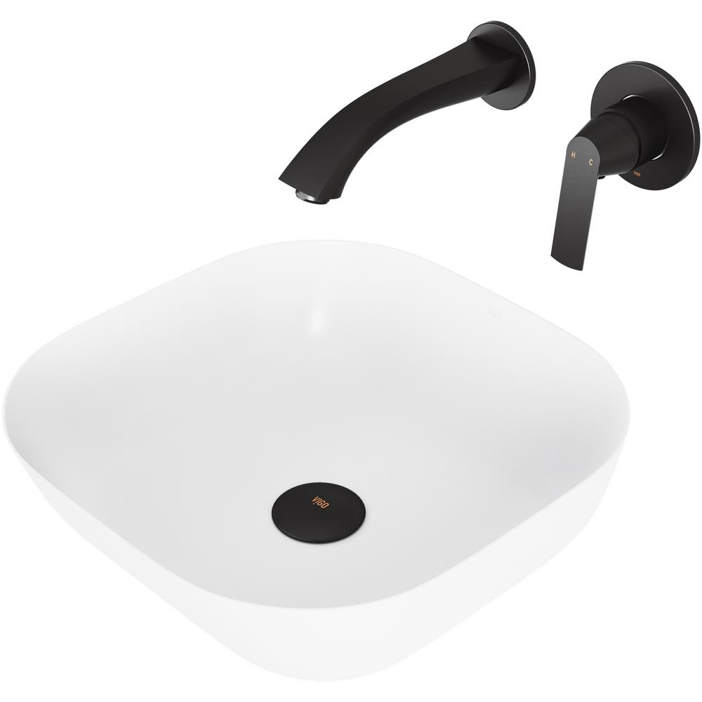 vigo camellia matte stone vessel bathroom sink set with aldous wall rh homedepot com bathroom sink storage units bathroom sink storage units