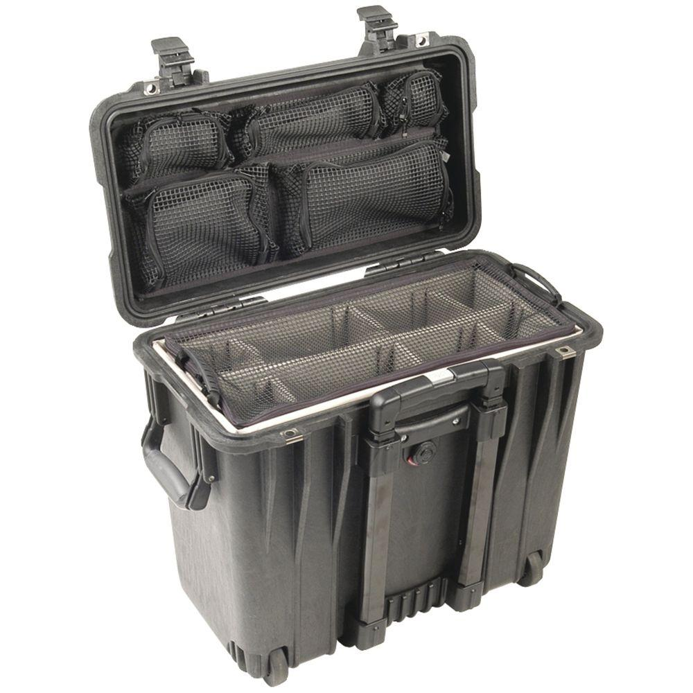 Pelican Case with Utility Padded Divider Set and Lid Orga...
