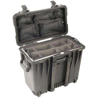 Case with Utility Padded Divider Set and Lid Organizer