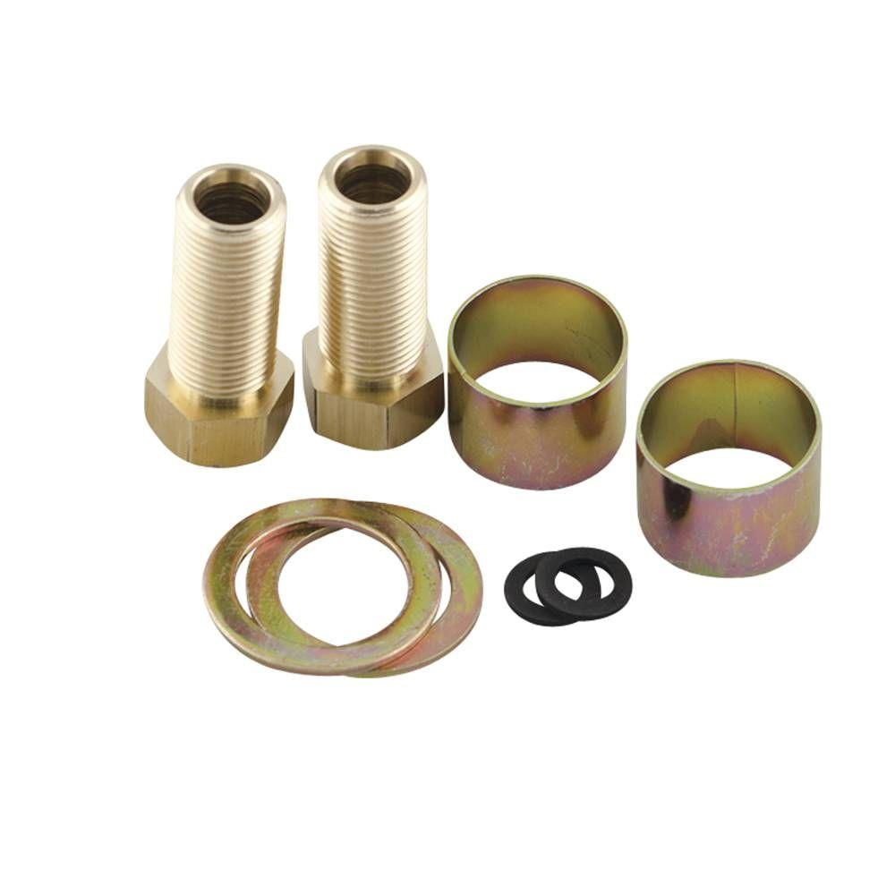 Moen Thick Deck Extension Kit For Valves With 1 2 In Threaded Mounting Shanks 100818 The Home