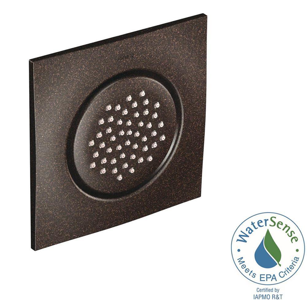 Moen Square Body Spray Trim Kit In Oil Rubbed Bronze Valve Not Included